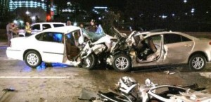 DWI car crash