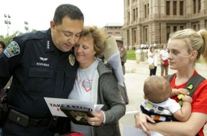 APD Chief Acevedo at DWI March 2015