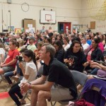 Parents, city and school officials meet at local school to discuss plans